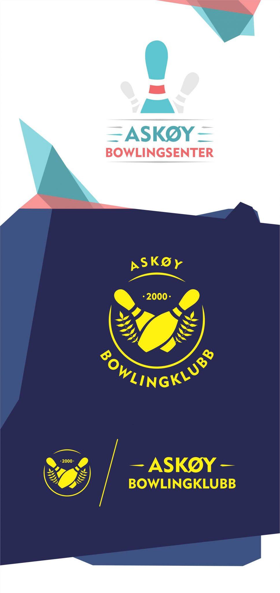 Askøy bowling logo laget av utenforboksen
