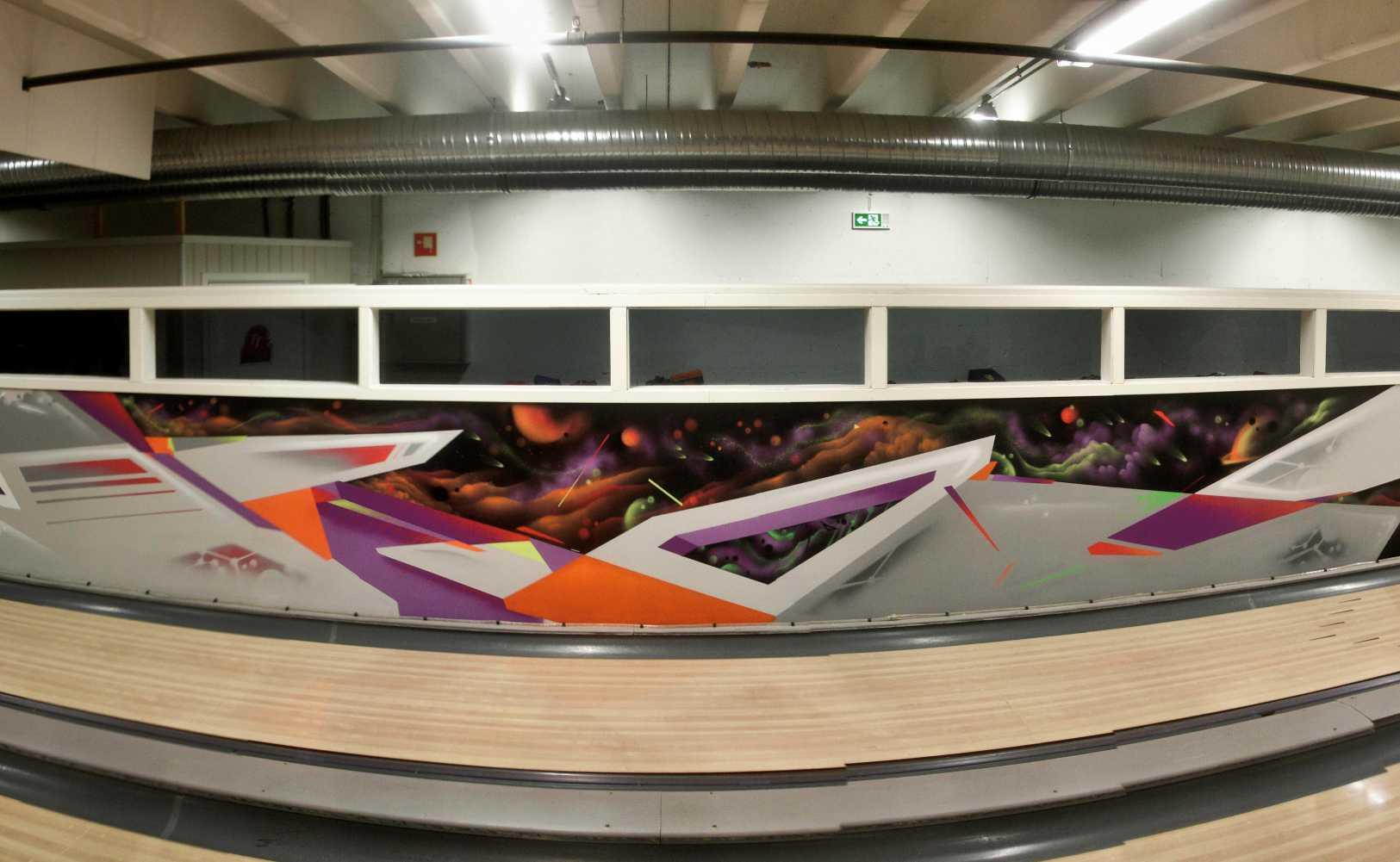 Urban kunst innendørs