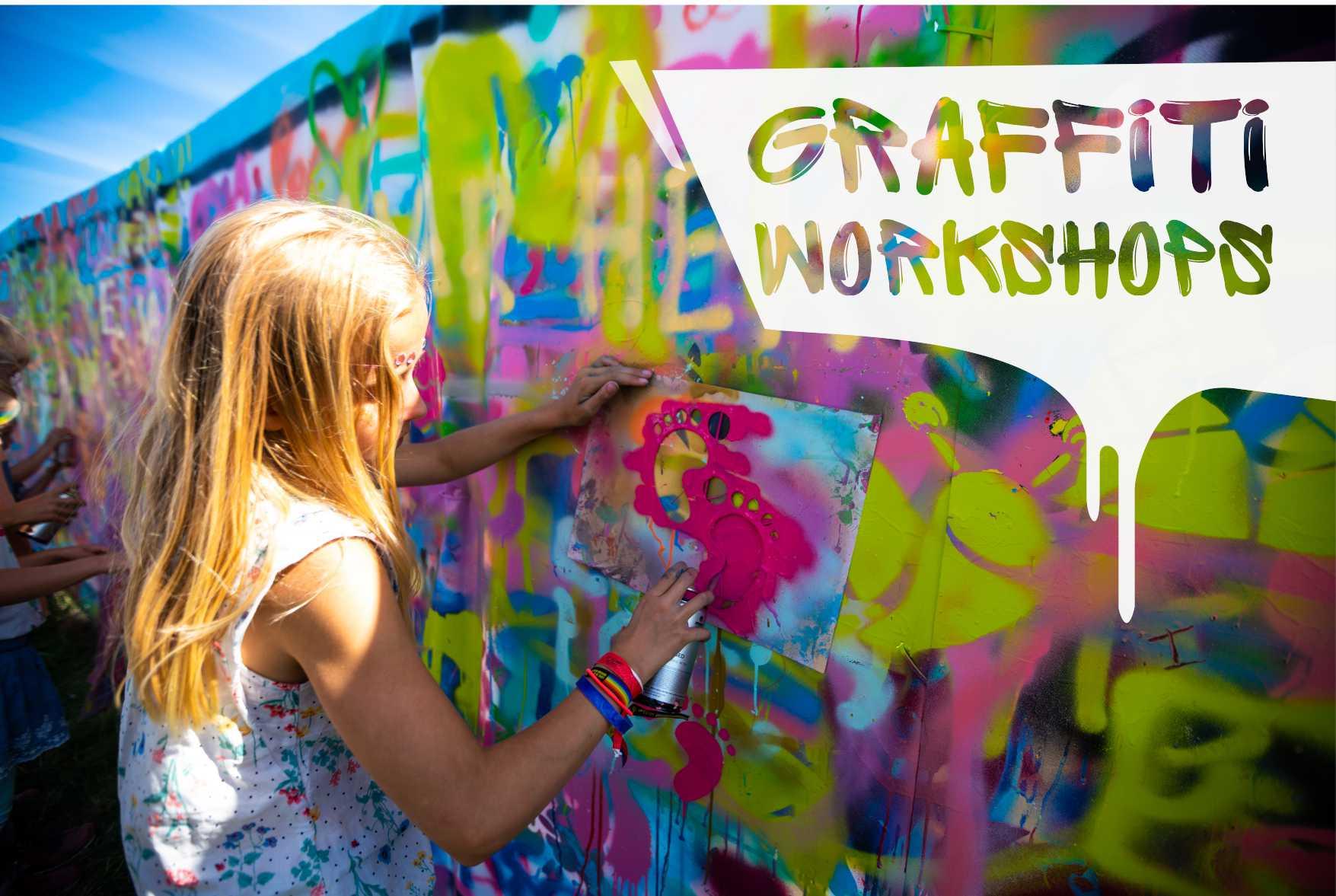 graffiti workshops på Giske NORGE
