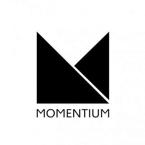 logo av eventselskapet momentium