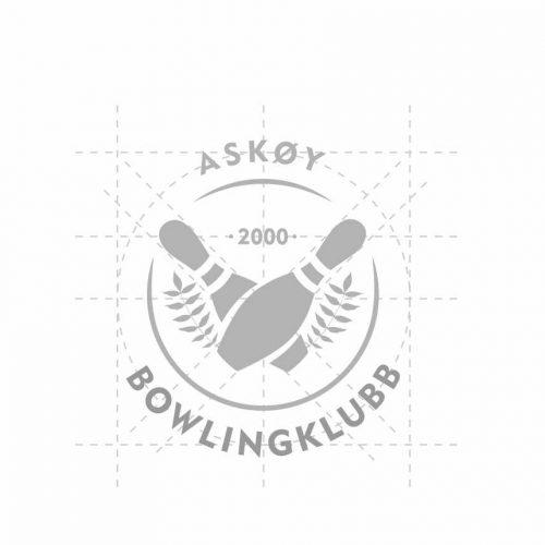 Askøy bowlingklubb logo