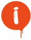 rennende maling ikon
